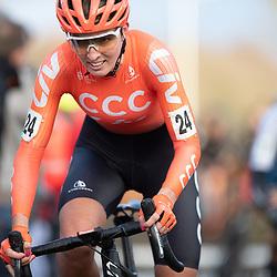 12-01-2020: Wielrennen: NK Veldrijden: Rucphen <br />Pauliena Rooijakkers
