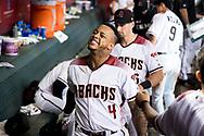 PHOENIX, AZ - SEPTEMBER 2: The D-backs defeat the Padres 14-7. (Photo by Sarah Sachs/Arizona Diamondbacks)