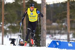 March 22, 2018 - SkellefteÂ, SVERIGE - 180322 Marcus Hellner,  i sprintprologen i skidor under dag 3 av SM-veckan den 22 mars 2018 i SkellefteÅ (Credit Image: © Carl Sandin/Bildbyran via ZUMA Press)