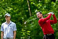 11-05-2019 Foto's NGF competitie hoofdklasse poule H1, gespeeld op Drentse Golfclub De Gelpenberg in Aalden. Foursomes:   Rosendaelsche 1 - Floris Veth en Liam ter Horst