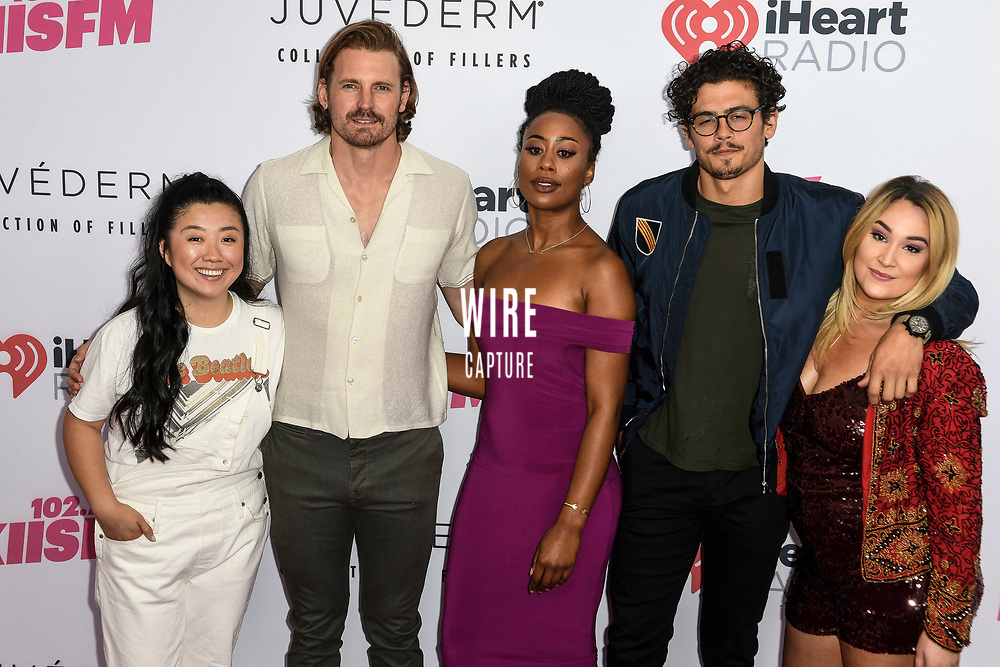 Cast of Good Trouble on Free Form at iHeartRadio KIIS FM Wango Tango at the Dignity Health Sports Park.