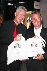 © London News Pictures. Lembit Opik and Nigel Evans MP , The BIG Party, Amika Mayfair, London UK, 16 July 2013. Photo credit:  Brett Cove/LNP