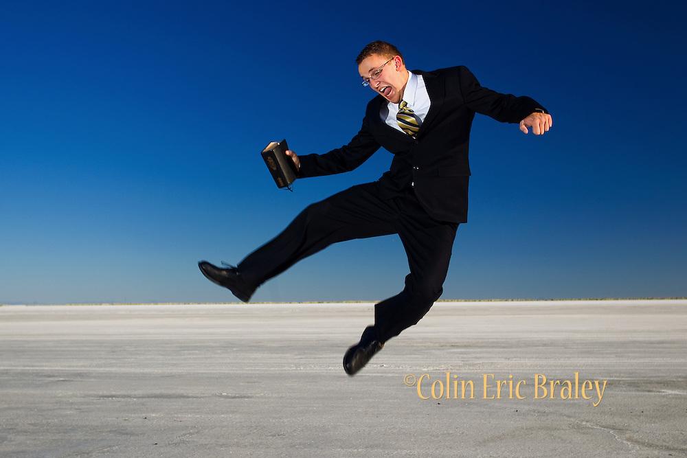 Salt Flats Portrait.  ©COLIN E BRALEY