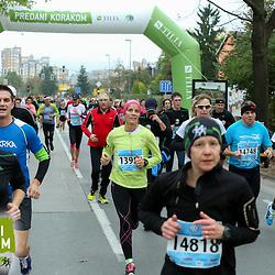 20141026: SLO, Athletics - 19th Ljubljana Marathon 2014 / Pri Zavarovalnici Tilia -10 km - 2.skupina
