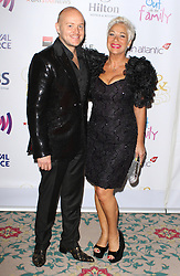 © Licensed to London News Pictures. 25/04/2014, UK. Lincoln Townley & Denise Welch. The Out In The City & g3 Readers Awards, The Landmark Hotel, London UK, 25 April 2014. Photo credit : Brett D. Cove/Piqtured/LNP