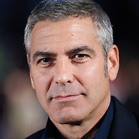 George Clooney attends the premiere of 'The Men Who Stare at Goats,' of which he stars, on Thursday night, October 15, 2009, at the Odeon, Leicester Square in London, as part of the 53rd BFI London Film Festival.