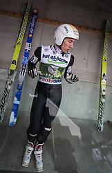 04.01.2014, Bergisel Schanze, Innsbruck, AUT, FIS Ski Sprung Weltcup, 62. Vierschanzentournee, Probesprung, im Bild Thomas Diethart (AUT) // Thomas Diethart (AUT) during Trial Jump of 62nd Four Hills Tournament of FIS Ski Jumping World Cup at the Bergisel Schanze, Innsbruck, Austria on 2014/01/04. EXPA Pictures © 2014, PhotoCredit: EXPA/ JFK