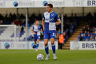 Bristol Rovers defender Luke Leahy during the EFL Sky Bet League 1 match between Bristol Rovers and Accrington Stanley at the Memorial Stadium, Bristol, England on 7 September 2019.