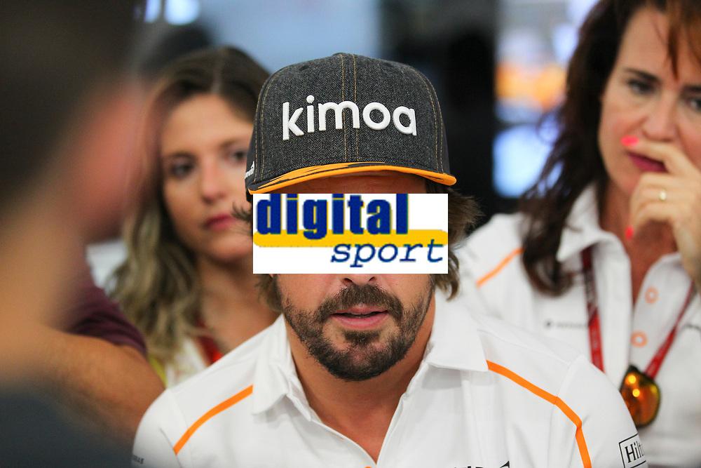 Fernando Alonso McLaren Renault<br /> Monza 30-08-2018 GP Italia <br /> Formula 1 Championship 2018 <br /> Foto Federico Basile / Insidefoto