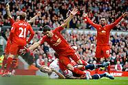 Liverpool v Tottenham Hotspur 300314