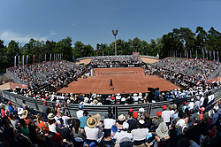 May 27, 2017 - Lyon - Parc Tete D'Or, France - Ambiance court central Open Parc (Credit Image: © Panoramic via ZUMA Press)