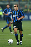 Milano 30/09/2003 <br />Champions League <br />Inter Dynamo Kyiv 2-1 <br />Fabio Cannavaro (Inter)<br />Foto Andrea Staccioli Graffiti