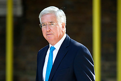 © Licensed to London News Pictures. 04/07/2017. London, UK. Defence Secretary MICHAEL FALLON attends a cabinet meeting in Downing Street, London on Tuesday, 4 July 2017.Photo credit: Tolga Akmen/LNP