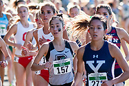 New York, New York  - Runners compete in the Ivy League Heptagonal women's<br /> cross country championship meet at Van Cortlandt Park in the Bronx on Oct. 26, 2017.