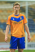Harry Charsley of Mansfield Town (7) during the The FA Cup match between Mansfield Town and Dagenham and Redbridge at the One Call Stadium, Mansfield, England on 29 November 2020.
