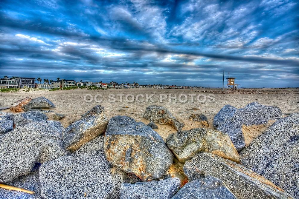 Stormy Sky over Huntington Beach California