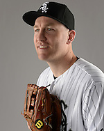 GLENDALE, ARIZONA - FEBRUARY 27:  Todd Frazier #21of the Chicago White Sox poses for a portrait during photo day on February 27, 2015 at Camelback Ranch in Glendale Arizona.  (Photo by Ron Vesely)    Subject:  Todd Frazier