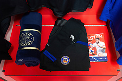 A general view in the away changing rooms prior to the match - Mandatory byline: Patrick Khachfe/JMP - 07966 386802 - 18/01/2020 - RUGBY UNION - Kingspan Stadium - Belfast, Northern Ireland - Ulster Rugby v Bath Rugby - Heineken Champions Cup