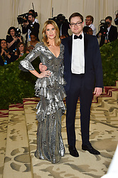 Guest attending the Costume Institute Benefit at The Metropolitan Museum of Art celebrating the opening of Heavenly Bodies: Fashion and the Catholic Imagination. The Metropolitan Museum of Art, New York City on May 7, 2018. Photo by Lionel Hahn/ABACAPRESS.COM
