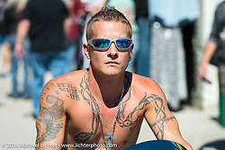Destination Daytona in Ormond Beach during Biketoberfest, FL, October 18, 2014, photographed by Michael Lichter. ©2014 Michael Lichter