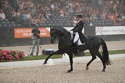 Gal Edward, NED, Glock's Zonik<br /> Nederlands Kampioenschap Dressuur <br /> Ermelo 2018<br /> © Hippo Foto - Dirk Caremans<br /> 28/07/2018