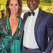 NLD/Amsterdam/20150604 - Amsterdam Diner 2016, Annemarie van Gaal en partner Rhandy Macnack