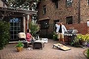 2017 March 17 - Backyard patio scene for TD Ameritrade's summer incentive program.