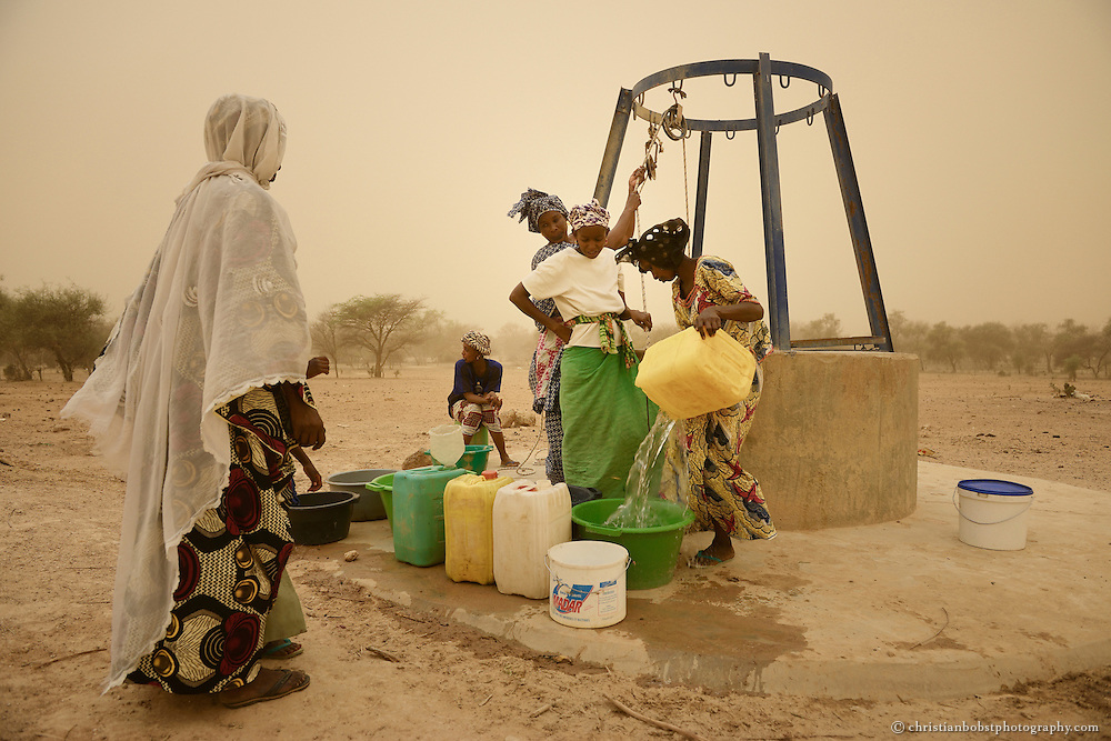 Ferlo Desert Senegal, documentation of development aid projects by the Swiss NGO HEKS.