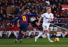 Valencia v Barcelona - 02 Feb 2019