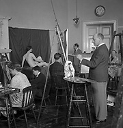 Artist's School, Euston 1940s Euston School of Drawing and Painting in London between 1937 and 1939