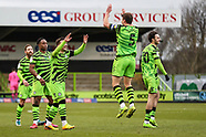 Forest Green Rovers v Port Vale 160121