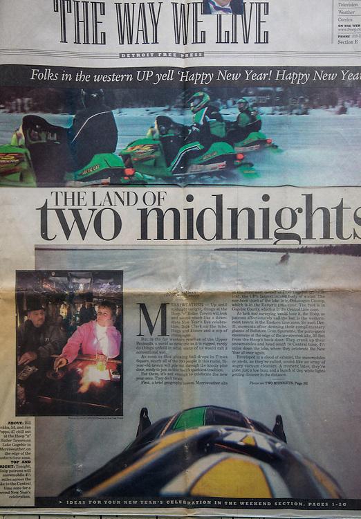 Detroit Free Press - December 31, 2003