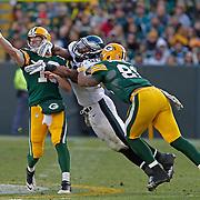 Green Bay Packers Philadelphia Eagles during an NFL football game Sunday, Nov. 10, 2013, in Green Bay, Wis. (Photo/Matt Ludtke)