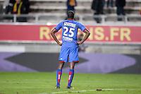Deception - Romain GENEVOIS - 19.12.2014 - Lens / Nice - 19e journee Ligue 1<br />Photo : Aurelien Meunier / Icon Sport