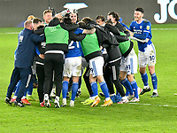 Football - 2020 / 2021 Sky Bet Championship - Swansea City vs Cardiff City - Liberty Stadium<br /> <br /> in the South Wales local derby match<br /> <br /> COLORSPORT/WINSTON BYNORTH