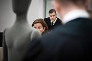 Lawyer Vibeke Hein Baera appears in court during the trial against Anders Behring Breivik.