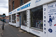 The Diskery record shop in the city centre on 28th July 2020 in Birmingham, United Kingdom. The Diskery is one of the longest-surviving record shops in the UK, having started in 1952.