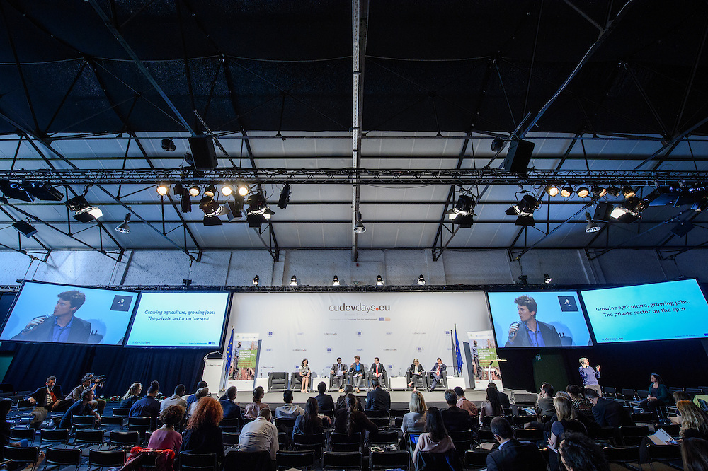 04 June 2015 - Belgium - Brussels - European Development Days - EDD - Jobs - Growing agriculture , growing jobs - The private sector on the spot © European Union