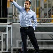 Kasimpasa's head coach Metin Diyadin during their Turkish superleague soccer match Kasimpasa between Kardemir Karabukspor at the Recep Tayyip erdogan stadium in Istanbul Turkey on Friday 24 August 2012. Photo by TURKPIX