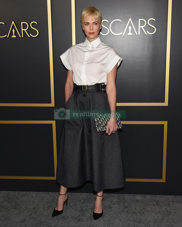 January 27, 2020, Hollywood, California, USA: CHARLIZE THERON attends the 92nd Oscars Nominees Luncheon at the Ray Dolby Ballroom. (Credit Image: © Billy Bennight/ZUMA Wire)