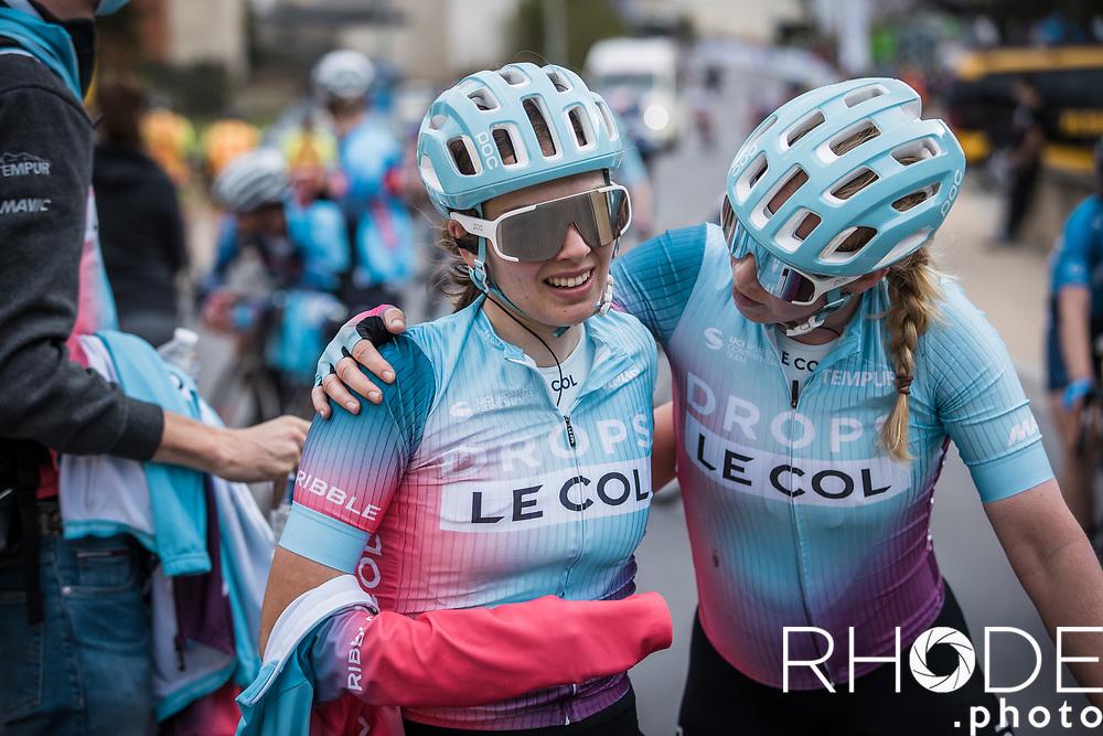 Marjolein van't Geloof (NED/Drops Le Col), Elizabeth Bennett (GBR/Drops Le Col), post race<br /> <br /> Ceratizit Festival Elsy Jacobs (LUX) 2021<br /> UCI Women Elite 2.1<br /> Day 2 – stage : Steinfort >Steinfort 125.1km  <br /> <br /> ©RhodePhoto