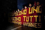 Manifestazione lavoratori TRW<br /> 15 novembre  2014 . Daniele Stefanini /  OneShot