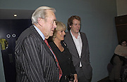 Bruce Shand, Camilla Parker Bowles and Tom Parker Bowles, Tom Parker Bowles, Susan Hill and Matthew Rice host party to launch 'E is For Eating' Kensington Place. 3 November 2004.  ONE TIME USE ONLY - DO NOT ARCHIVE  © Copyright Photograph by Dafydd Jones 66 Stockwell Park Rd. London SW9 0DA Tel 020 7733 0108 www.dafjones.com