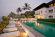 The Brunton Boatyard Hotel, an old colonial building in Fort Cochin, Kerala, India