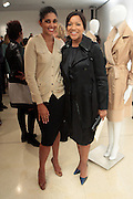 14 September 2010- New York, NY- Designer Rachel Roy and Grace Hightower at The Rachel Roy Presentation held at New York Public Library for the Performing Arts, Dorothy and Lewis B. Cullman Center as part of the 2011 Mercedes-Benz Fashion Week on September 14, 2010 in New York City. Photo Credit: Terrence Jennings