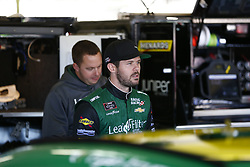 November 2, 2018 - Ft. Worth, Texas, United States of America - Ryan Truex (11) hangs out in the garage during practice for the O'Reilly Auto Parts Challenge at Texas Motor Speedway in Ft. Worth, Texas. (Credit Image: © Justin R. Noe Asp Inc/ASP via ZUMA Wire)