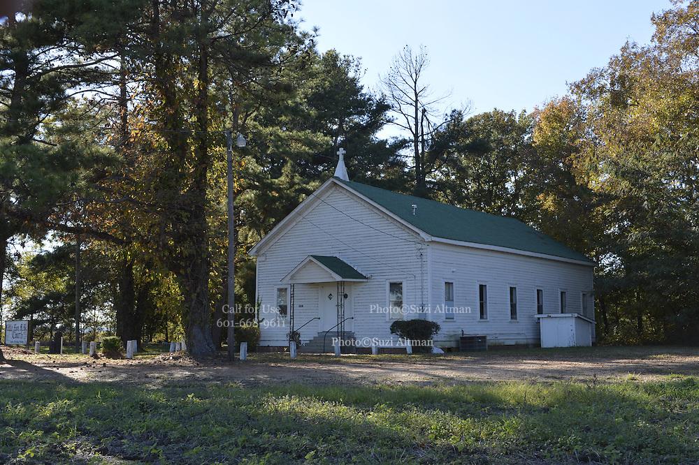 11/11/13 Greenwood, MS. Little Zion MB Church Mississippi Money Mississippi.Photo ©Suzi Altman/TheOneMediaGroup