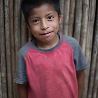 A Q'eqchi boy in Concepción Actelá, Alta Verapaz. World Renew is beginning to work in Concepción Actelá, through its Guatemalan partner ADIP.