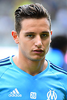Florian Thauvin of Marseille  during the Ligue 1 match between FC Nantes and Olympique Marseille at Stade de la Beaujoire on August 12, 2017 in Nantes, . (Photo by Dave Winter/Icon Sport)