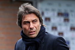 Chelsea manager Antonio Conte arrives at Turf Moor - Mandatory by-line: Matt McNulty/JMP - 12/02/2017 - FOOTBALL - Turf Moor - Burnley, England - Burnley v Chelsea - Premier League